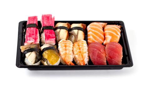 Set 1 Sushi mix Nigiri (12 stuks)