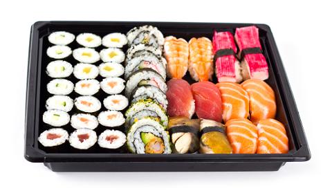 Set 5 Sushi box Maki/Nigiri (40 stuks)